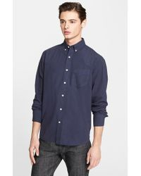 Rag & Bone | Blue Standard Issue Trim Fit Shirt for Men | Lyst