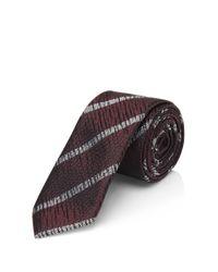 HUGO - 'tie 4.5 ' | Skinny, Silk Textured Tie for Men - Lyst