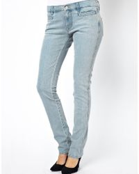 M.i.h Jeans - Blue Oslo Mid Rise Long Straight Leg Jeans in Surf - Lyst