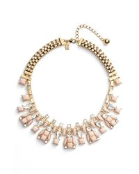 kate spade new york - Pink 'turn Heads' Collar Necklace - Lyst