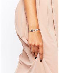 V - Metallic Jewellery Wira Sparkle Bracelet - Lyst