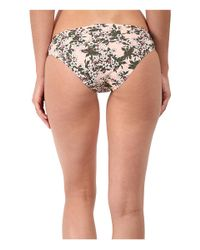 Stella McCartney - Pink Stella Smooth Print Brief Bikini - Lyst