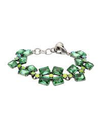 Lulu Frost   Green Bracelet   Lyst