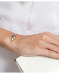 Astley Clarke - Metallic Gold-plated Topaz Oval Stilla Bracelet - Lyst