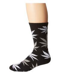 Huf | Black Plantlife Crew Sock | Lyst