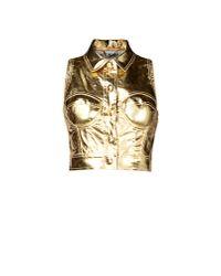 Moschino | Metallic Blazer | Lyst