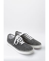 Forever 21 - Black Classic Denim Sneakers for Men - Lyst