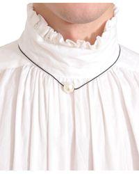 Dries Van Noten - White Pearl Necklace for Men - Lyst