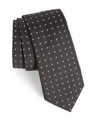Rag & Bone | Black Woven Square Silk Tie for Men | Lyst