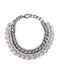 Alienina - Gray Necklace - Lyst