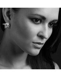 Saxons Of Oxford - Metallic Luminary Earrings - Lyst