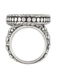 John Hardy - Metallic Oval Dot Ring - Lyst