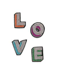 Macon & Lesquoy | Multicolor Love Pin Set | Lyst