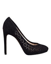 Nine West - Black Nokota Round Toe Pumps - Lyst