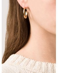 Kelly Wearstler - Metallic 'anza' Hoop Earrings - Lyst