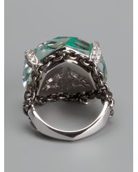 Stephen Webster - Green Murder She Wrote Haze Ring - Lyst