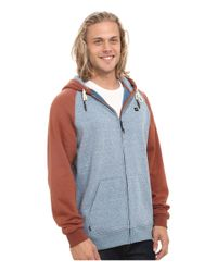Rip Curl - Blue Surf Patrol Fleece for Men - Lyst