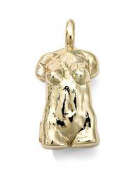 Ippolita - Metallic 18k Yellow Gold Statue Charm - Lyst