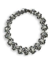 Kenneth Jay Lane | Multicolor Multi-pearls Ivy Necklace | Lyst