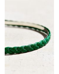 Urban Outfitters - Green Braided Headband - Lyst
