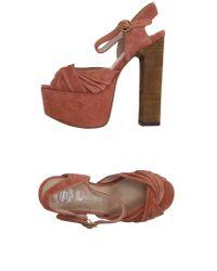 Jeffrey Campbell - Pink Sandals - Lyst