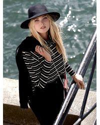 Free People - Black We The Free Stripe Kristina Thermal - Lyst