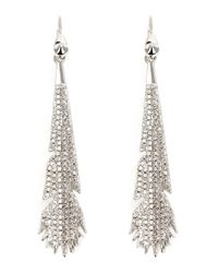 Eddie Borgo | Metallic Plume Earrings. | Lyst