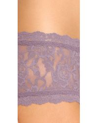 Hanky Panky - Purple Signature Lace Panties - Ballet - Lyst
