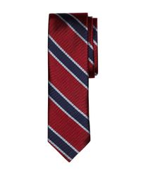 Brooks Brothers - Red Framed Bb#4 Stripe Slim Tie for Men - Lyst