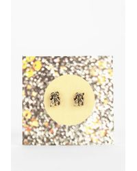 Urban Outfitters - Metallic Bug Gift Card Earring - Lyst