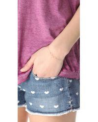 Kristen Elspeth - Metallic Triple Oval Bracelet - Lyst