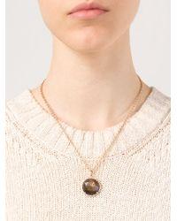 Irene Neuwirth - Metallic Sapphire And Diamond Pendant Necklace - Lyst