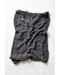 Urban Outfitters | Black Variegated Cozy Eternity Scarf | Lyst