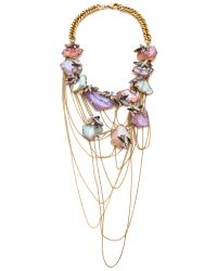 Erickson Beamon | Multicolor Cosmic Code Necklace Pastel Multi | Lyst
