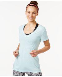Adidas | White 24 Seven Climalite® V-neck T-shirt | Lyst