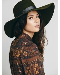 Free People - Brown Novella Royale Womens The Around My Poppies Mini Dress - Lyst