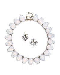 BaubleBar | White Petal Power Set | Lyst