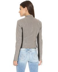Free People | Gray Clean Vegan Jacket | Lyst