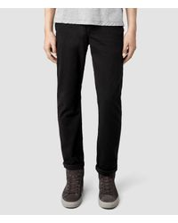 AllSaints | Black Volt Chino for Men | Lyst
