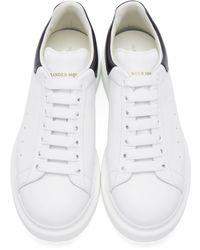 Alexander McQueen - White Platform Low-top Sneakers for Men - Lyst