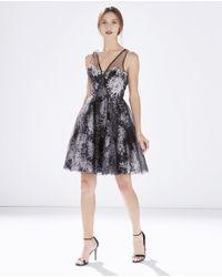 Parker - Gray Mary Dress - Lyst