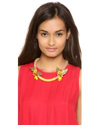 Holst + Lee - Yellow Holst Lee Island Paradise Necklace - Lyst