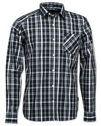 Volcom | Black Everett Plaid Classic-fit Shirt for Men | Lyst