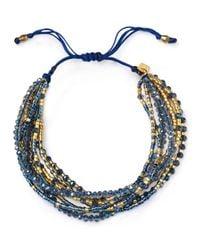 Chan Luu - Multicolor Multi Strand Bracelet - Lyst