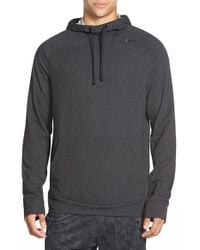 Nike - Black 'touch' Dri-fit Fleece Training Hoodie for Men - Lyst