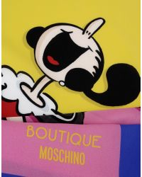 Boutique Moschino - Blue Foulard - Lyst
