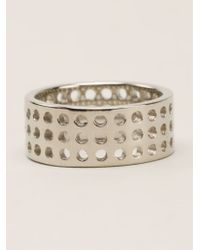 Kelly Wearstler - Metallic 'precision' Ring - Lyst