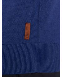 Ben Sherman | Blue Crew Neck Jumper for Men | Lyst