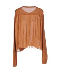 Nioi - Natural Cardigan - Lyst