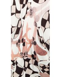 Zero + Maria Cornejo | Multicolor Aviva Tank - Venetian/white | Lyst